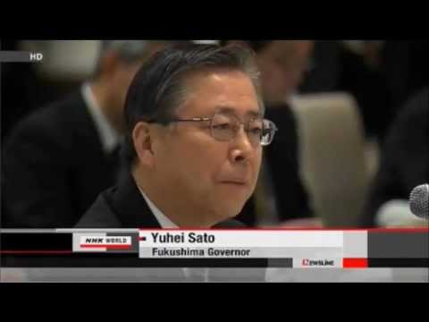 Fukushima, Japan: Radioactive Waste Battle, Jan 5, 6, 8 2012