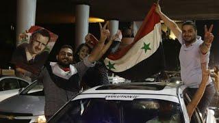 Syrien feiert seine Fußballer - WM-Hoffnung lebt