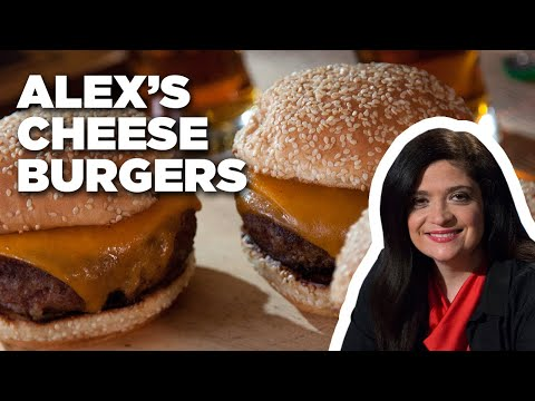 How to Make Cheese Burgers with Alex Guarnaschelli | Food Network