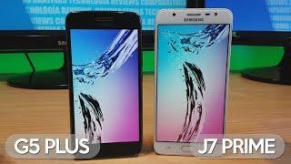 Moto G5 Plus vs Galaxy J7 Prime - Comparativa