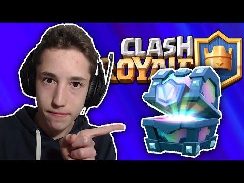 KADA IDE LEGENDARNI CHEST? | Clash Royale