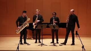 Gotkovsky: Quatour de Saxophones, Mvt.  V Finale