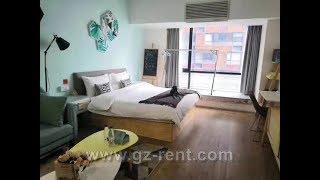 Apartment studio rent in Zhujiang New Town Guangzhou ZJNT