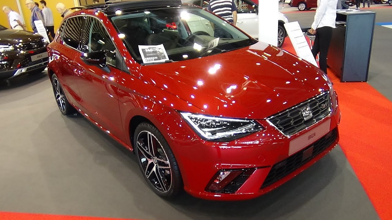 2018 seat ibiza 1 0 tsi 115 fr exterior and interior salon automobile lyon 2017 youtube. Black Bedroom Furniture Sets. Home Design Ideas