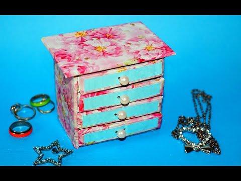 hand-made-matchbox-craft-|-easy-jewelry-box-making-tutorial-|-julia-diy