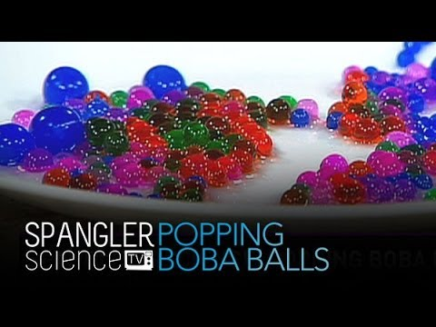 Popping Boba Balls - Cool Science Experiment