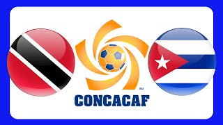 TRINIDAD & TOBAGO CUBA CONCACAF GOLD CUP 2015 +++ GERMAN