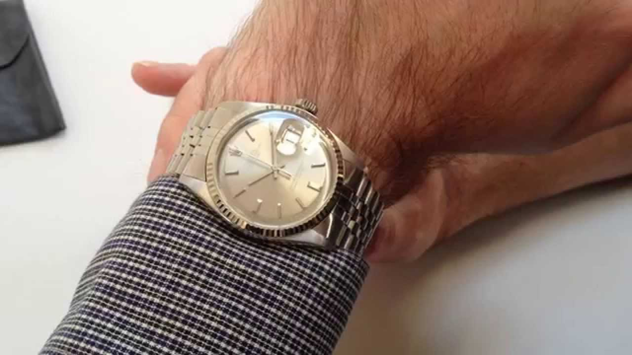 Rolex Vintage Wristwatch Oyster Perpetual Datejust