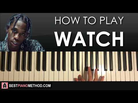 HOW TO PLAY - Travis Scott - Watch (Piano Tutorial Lesson)