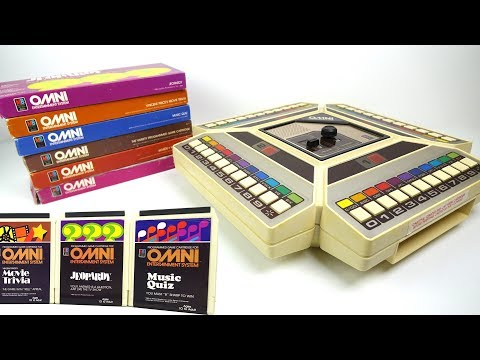MB OMNI Entertainment System - The 1980s 8-Track games machi
