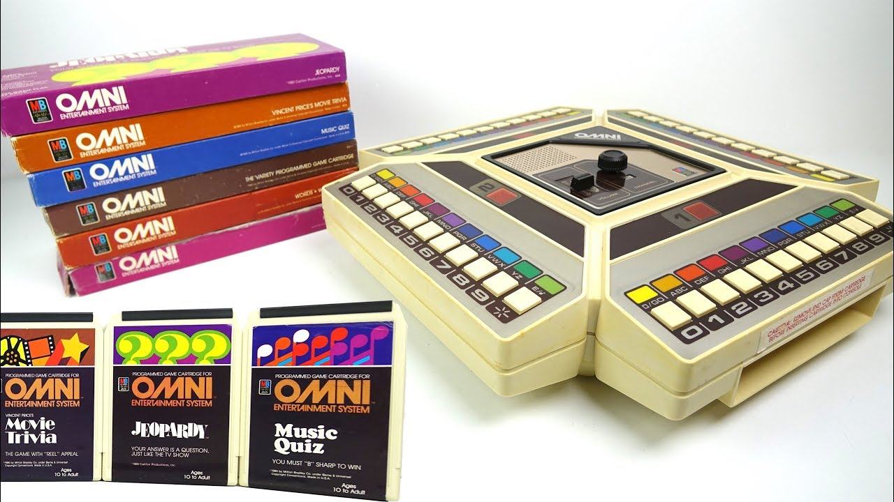 MB OMNI Entertainment System - The 1980s 8-Track games machine