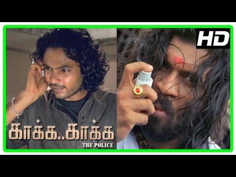 Kaaka Kaaka movie scenes | Yog Japee| Jeevan warns Suriya | Jyothika