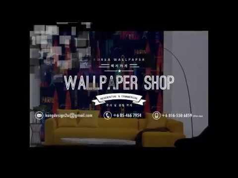 Mersing Korea Wallpaper Shop Residential Commercial Wallpaper