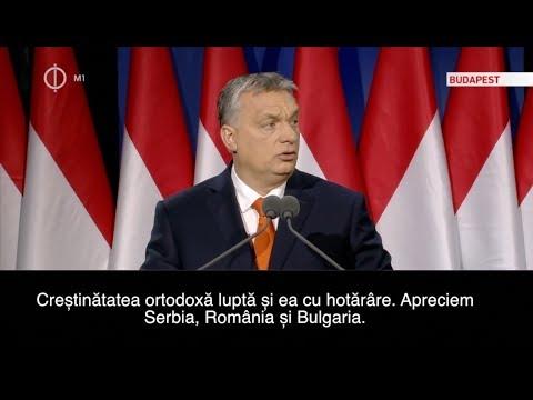 Orbán Viktor - discurs despre provocările Europei creștine subtitrat în limba română