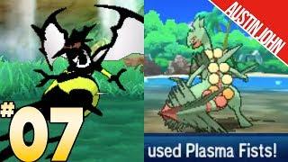 Yellow Jacket Nagadanel, URELEASED MOVES & More! Pokemon ultraLOCKE EP7 | Austin John Plays