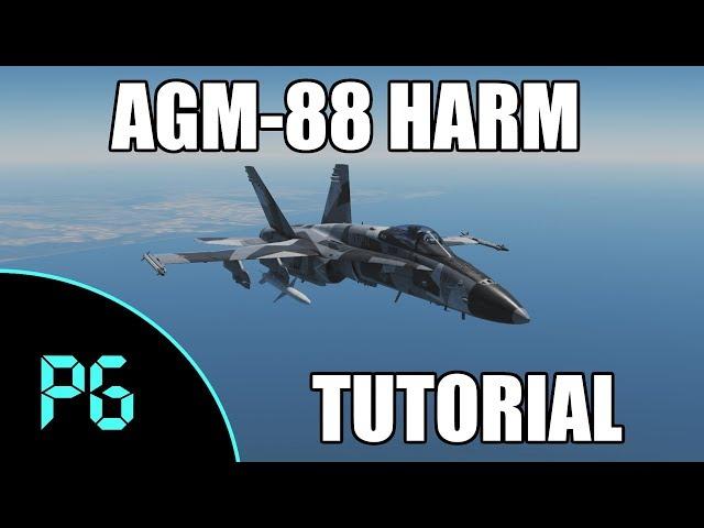 DCS - AGM-88 HARM SP Mode Tutorial