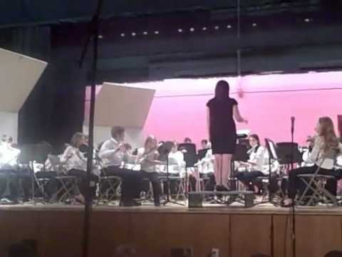 Hingham Middle School 6th Grade Band December 2012