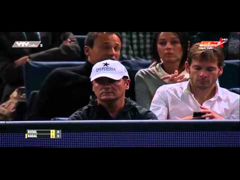 Paris Masters 2015: Rafael Nadal vs Lukas Rosol 2rd Round | Highlights 5/11/2015