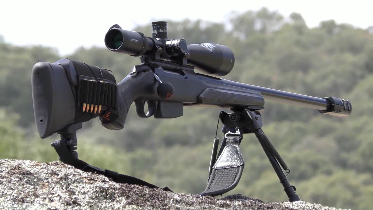 TIKKA t3  223 VARMINT IN THE FIELD