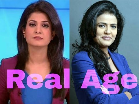 Real Age Of India's Top News Anchor | Anjana Om Kashyap | Ar