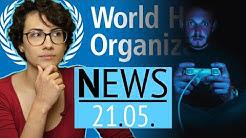 WHO erkennt Online-Spielsucht offiziell als Krankheit an - News
