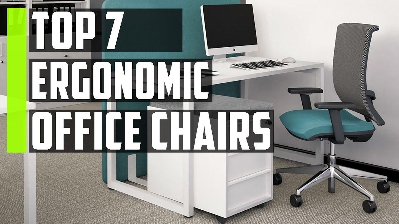 Top 7 Best Ergonomic Office Chairs 2020 Best Ergonomic Office Chair Under 200 Youtube