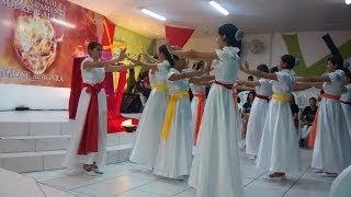 Varão de Fogo - Coreografia do Grupo de Dança Louvor e Expressão