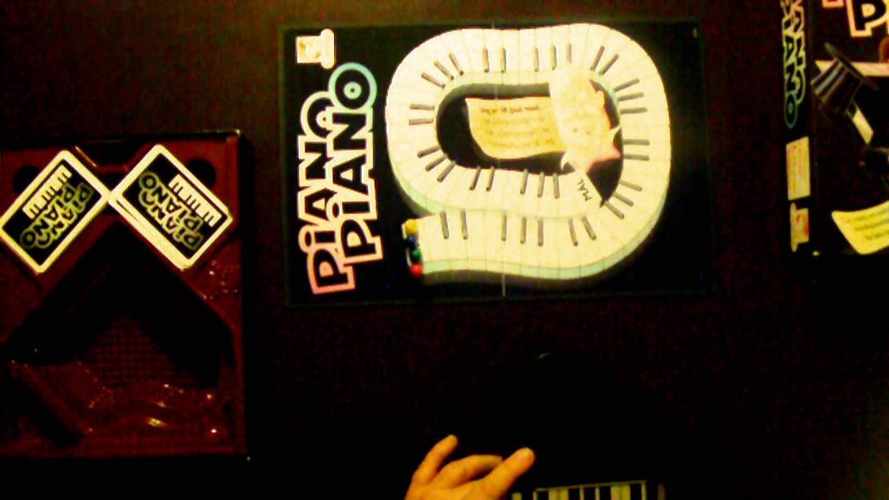 piano piano sällskapsspel