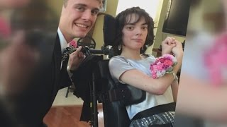 A prom to remember for a teenager with a disability