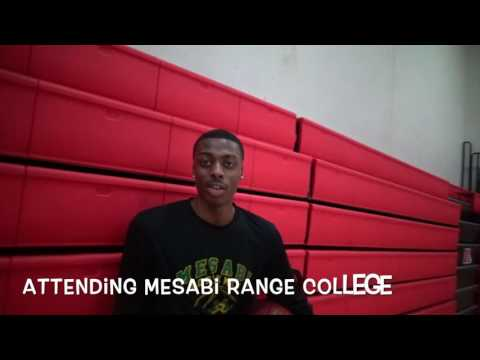 FUTURE NBA PLAYER EMMANUEL W.ATTENDING MESABi RANGE College!!