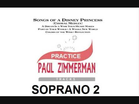 Songs Of A Disney Princess SOPRANO 2