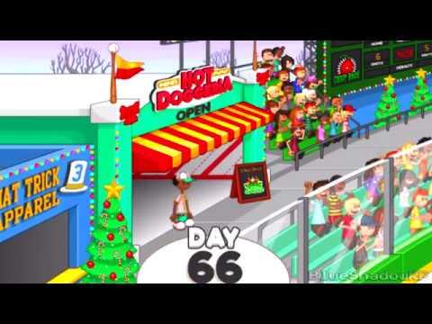 Papa's Hot Doggeria To Go! - Enter Christmas