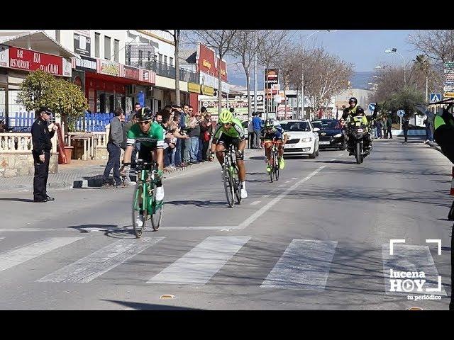 VÍDEO. Así vimos el paso de la Vuelta Ciclista a Andalucía por Lucena