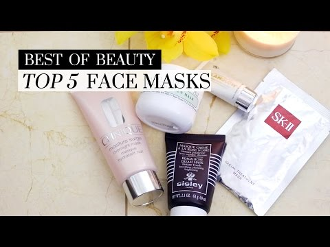 Top 5 Best Face Masks, best facial masks, best face masks, cleansing mask, moisturizing mask, sleeping mask