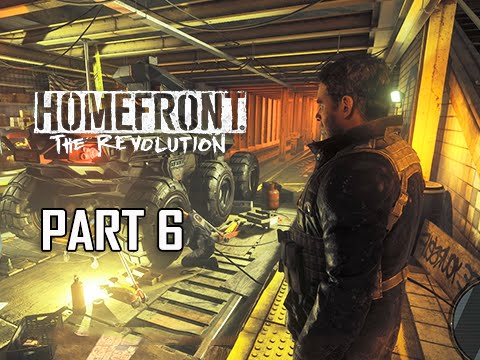 Homefront The Revolution Walkthrough Part 6 - Inside Job (PC Ultra Let's Play Commentary)