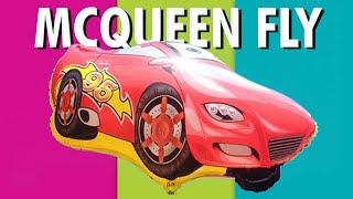 mcqueen lightning cars toys ballons    mainan anak anak balon udara foil karakter   videos for kids