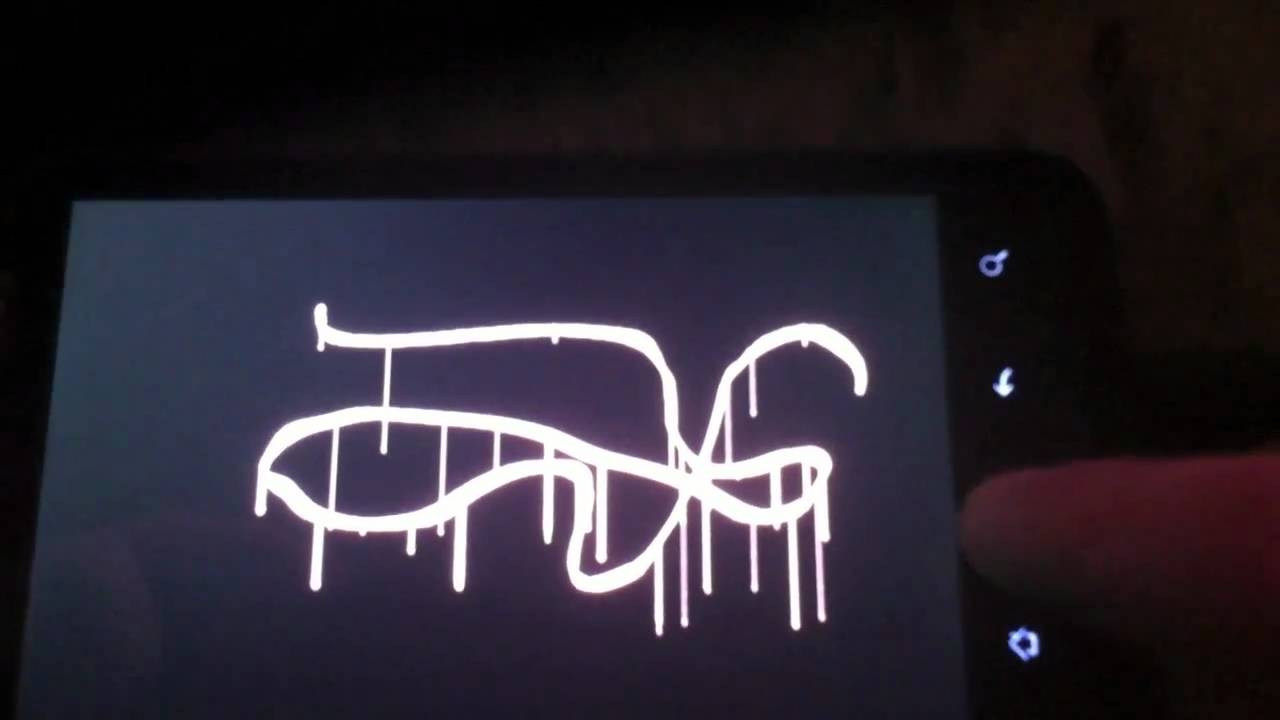 Touchtag android graffiti app youtube
