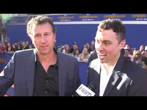 """Spider-Man: Homecoming"" Writers John Francis Daley & Jonathan Goldstein at the world premiere"
