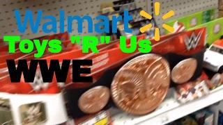 WWE Toy Hunt (Walmart, Toys R Us)