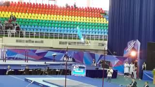 Чемпионат Азии по спортивной гимнастике Карими Милад