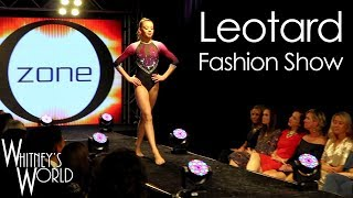 Whitney and her teammates were invited to model leotards for Ozone ...