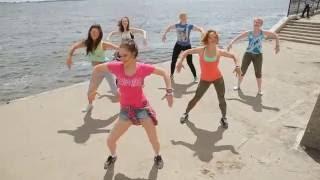 Zumba fitness Saratov 2016  Fuse ODG Ft. Sean Paul – Dangerous Love