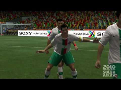 C. Ronaldo gay celebration with Simao