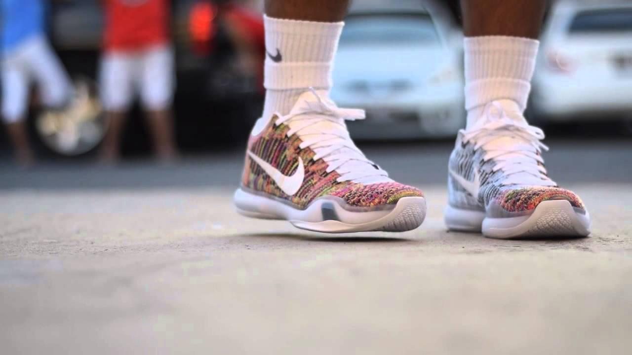 2600baa3117 Nike ID kobe 10 on foot - YouTube