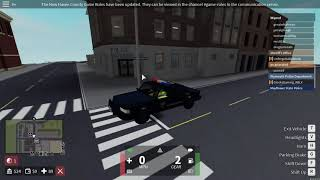 First Patrol! | Mayflower State Police | New Haven County | ROBLOX