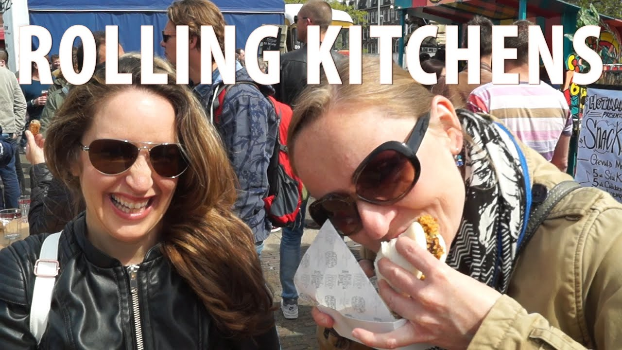 Rollende keukens amsterdam food trucks youtube