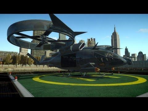 Транспортный вертолёт SA-2 «Самсон»