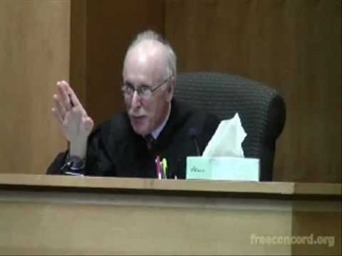Caught on tape: Judge tells jury not to judge law