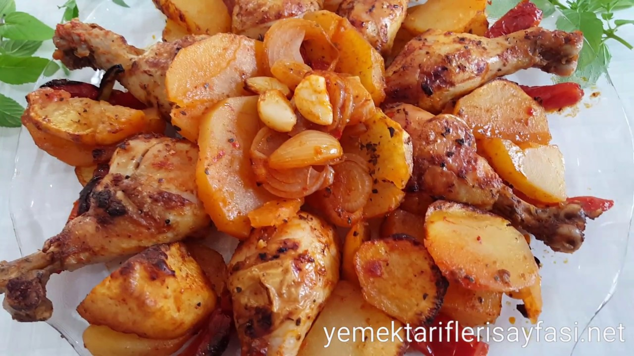Tavuklu Patatesi Yemeği Yapılışı Videosu