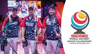 USA v Italy - compound men's team gold final | Yankton 2018